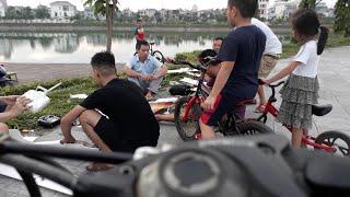 Trung Tyt đạp xe chơi hồ♥️funny kids songs♥️video clip♥️nhạc tiếng anh cho bé♥amazing♥discovery