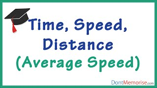 Time Speed Distance Tricks – Average Speed ( GMAT / GRE / CAT / Bank PO / SSC CGL )
