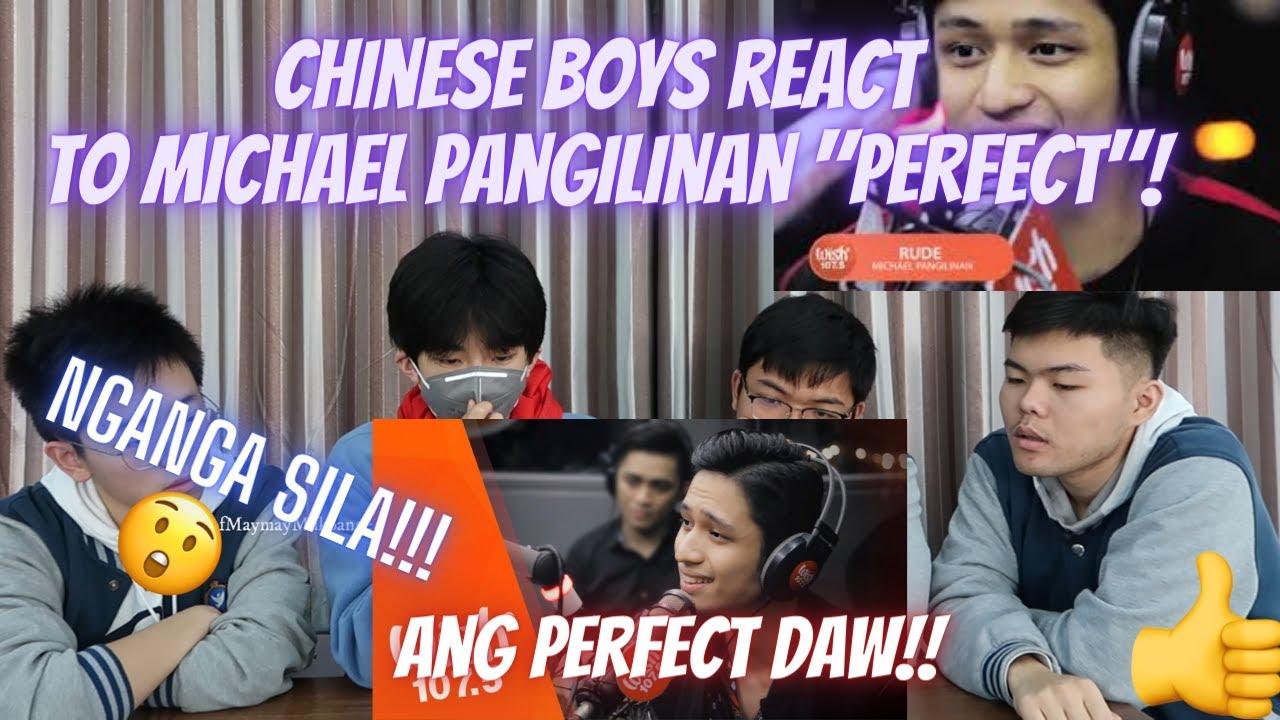 """CHINESE BOYS REACT TO MICHAEL PANGILINAN """"PERFECT""""/ ANG PERFECT DAW AT ANG GANDA NG BOSES!! 😍😲😍😲"""