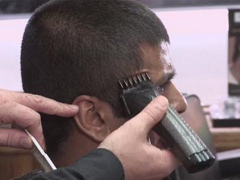 how to use clippers on men s hair youtube