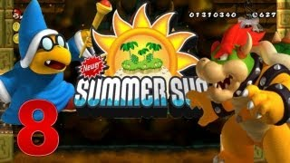 Newer Summer Sun - Let's Play Newer Summer Sun Part 8: Final Bowser Castle