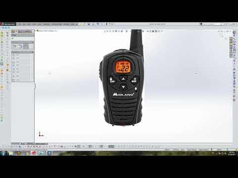 Toy Radio Cell - SolidWorks Tutorial (Part 3)