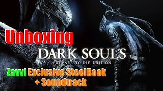 """Dark Souls - Prepare To Die Edition"" Limited SteelBook (+Soundtrack) - PS3 - Unboxing (german)"