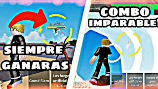 THE BEST COMBO FOR MOBILE!! [ARE IMPARABLE] DRAGON BALL RAGE [Roblox]