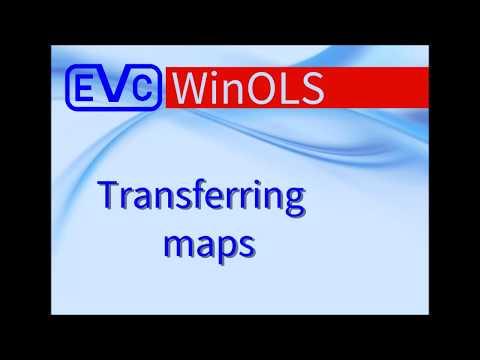 WinOLS: Transferring Maps