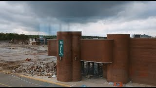 Schuylkill Mall Frackville PA ALMOST GONE URBEX REMEMBERS DEAD MALL DJI SPARK