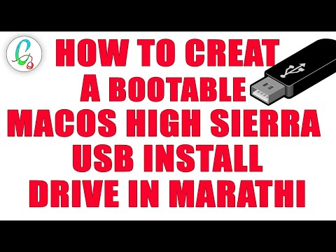 How To Creat A Bootable Macos High Sierra Usb Install Drive