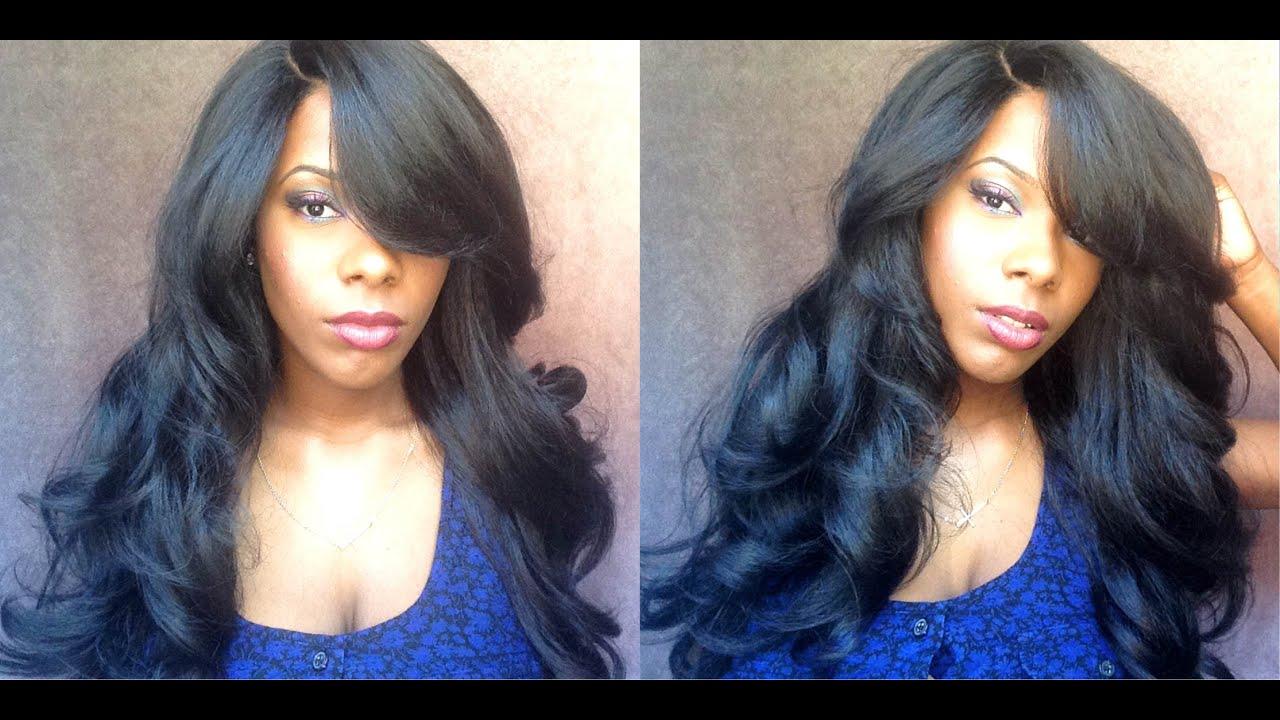 Black Natural Hair Blowout