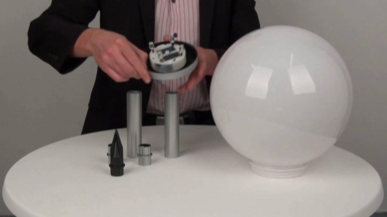 Lichtdesign Skapetze s luce led solar kugelleuchte licht design skapetze