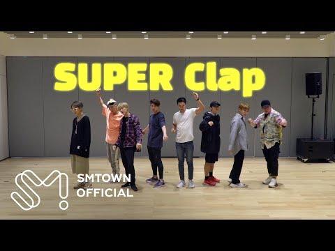 SUPER JUNIOR 슈퍼주니어 'SUPER Clap' Motion Graphics Dance Video