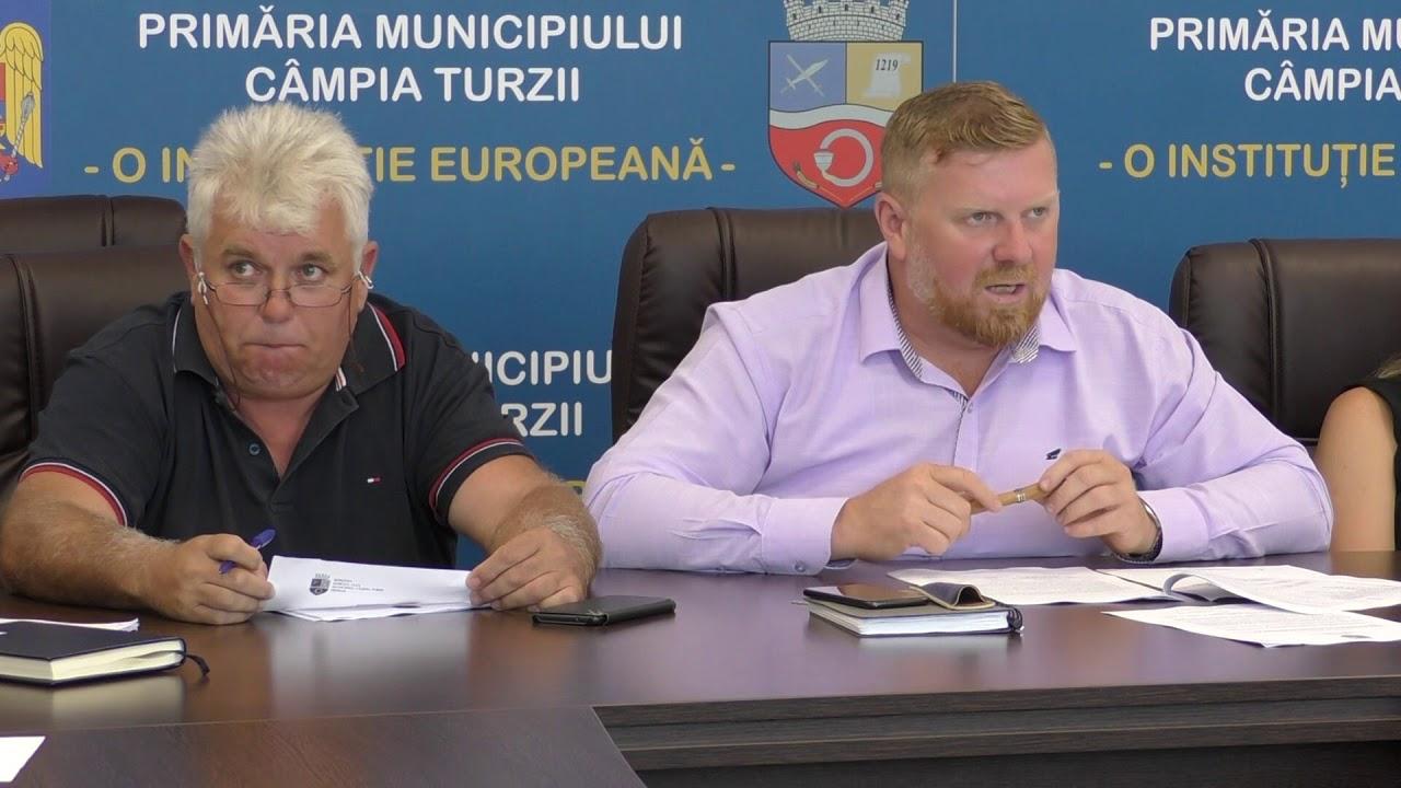 Consiliu Local Câmpia Turzii - ședință de îndată (21.08.2019)