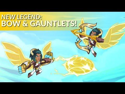 New Legend Reveal: Bow & Gauntlets (& Esports News!) - Brawlhalla Dev Stream Montage