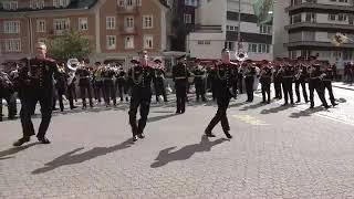 Мы,Русские-какой восторг!!!24.09.2019 - Суворовские курсанты в Андерматте (Швейцария)
