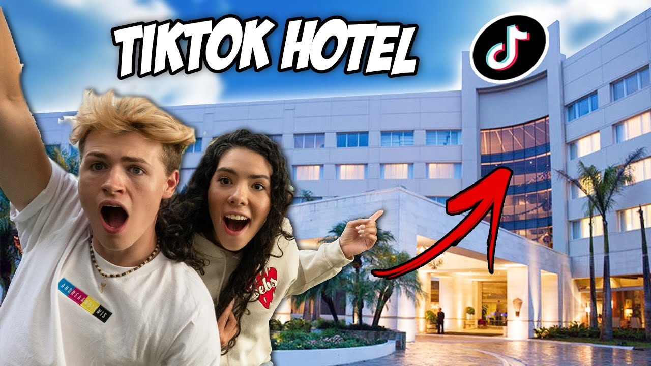 Moving Into The WORLD'S FIRST TikTok Hotel | Andrea & Lewis