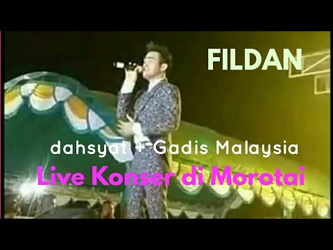 Fildan Live di Kota Daruba Morotai Lagu Dahsyat + Gadis Malaysia
