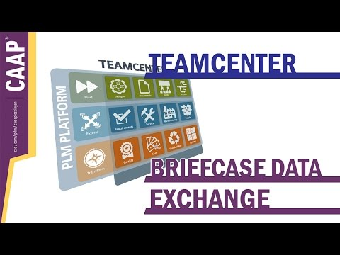 Teamcenter Rapidstart - Briefcase Data Exchange Suppliers