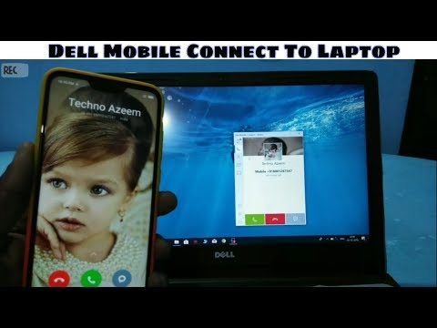 Dell Mobile Connect To Laptop |Use Phone On Your Laptop Without Phone Mirroring|