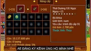 Ninja School Online | Fang đồ 16 cho phân thân - 99 VIP nhất 5sv