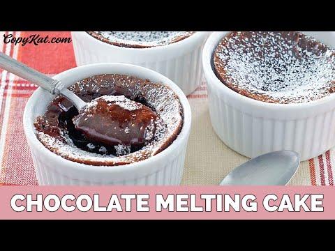 Chocolate Melting Cake Like Carnival Cruise Line