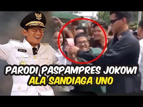 Sandiaga Uno sindir Paspampres yang tekuk jari mahasiswa saat foto bersama Jokowi