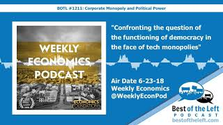 Confronting the question of the functioning of democracy in the face of tech monopolies - Weekl...