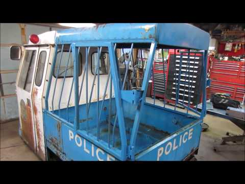 cushman paddy wagon gets paint/rust