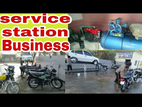 Earn One Lakh Per Month From Service Station