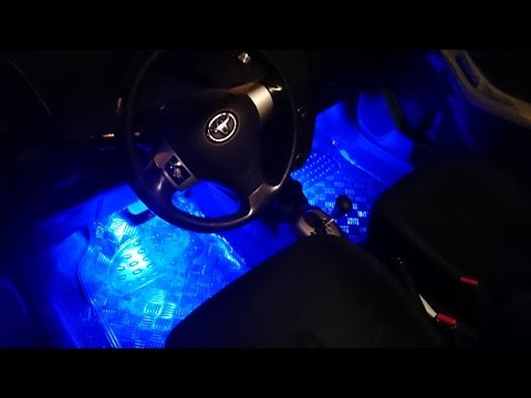 Arduino Rgb Interior Car Lighting Bluetooth Android App Youtube