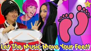 Kids Song | With The Five Finger Family | Jump You Can Do It!  | Star jump, Dance, Sing