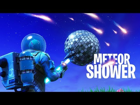 THE COMET IS FALLING! METEOR SHOWER in Fortnite: Battle Royale