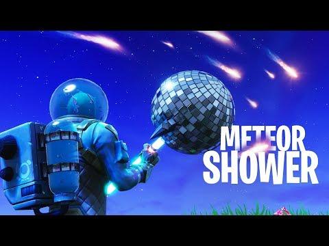 THE COMET IS FALLING! METEOR SHOWER in Fortnite: Battle Royale