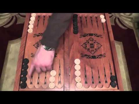 Обучение игре в короткие нарды - YouTube