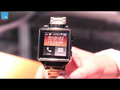 Burg Smartwatch Is A Phone All By Itself | CES 2014