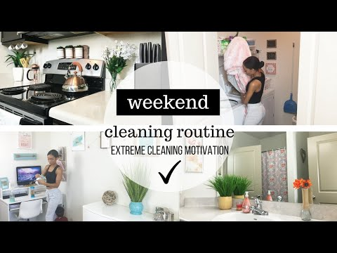 weekend-cleaning-routine-//-clean-with-me-//-cleaning-motivation