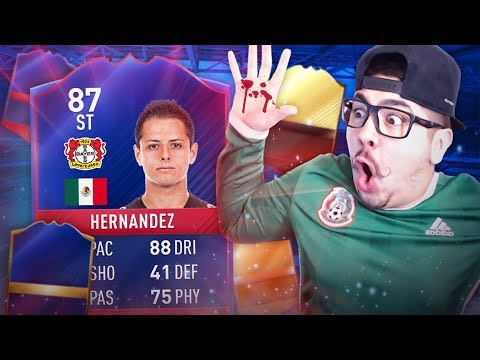 RECORD BREAKING CHICHA IN A PACK I sliced my hand FIFA 17
