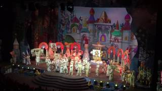Ёлка Маша и Медведь и Три Богатыря 2016-2017 часть 1