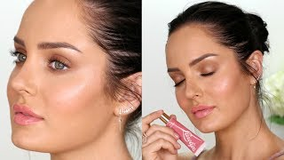 How to get Creamy Dewy Skin! \\ Natural Glow Makeup Tutorial