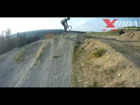 Xrida Teamtraining 2011 bikepark winterberg dirt slopestyle mtb.downhill