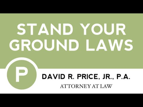 Stand Your Ground Laws In South Carolina | Criminal Defense Lawyer Greenville SC