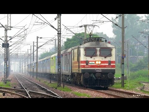 Lucknow SHATABDI v Kanpur SHATABDI | 130 kmph Morning Crackers unleash their real brutality !!