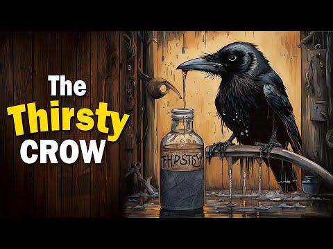 चतुर कावळा  The Thirsty Crow  चतुर कौआ  Chatur Kavla #MoralStories #ShortStories #Kids #Animation