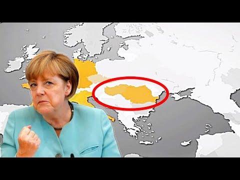 Almanya Türkiye'yi Haritadan Sildi