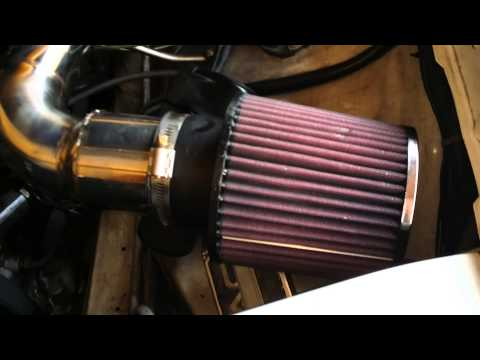 K&N Airfilter on w124 M102 Engine
