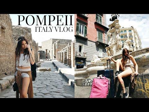 ITALY TRAVEL VLOG // POMPEII + NAPLES