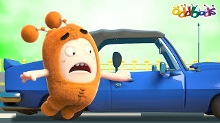 Oddbods | HITCHHIKING | Funny Cartoons For Children