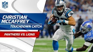 Christian McCaffrey Snags Cam's Shovel Pass & Scores 1st Career TD! | Panthers vs. Lions | NFL Wk 5