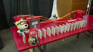 Rube Goldberg Machine - The 2018 Chiefs Schedule