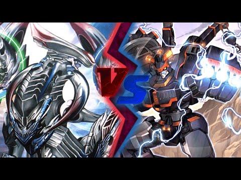 Cardfight!! Vanguard: Metalborg (Dimension Police) vs Messiah (Link Joker)