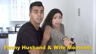 Funny Husband and Wife Moments | David Lopez