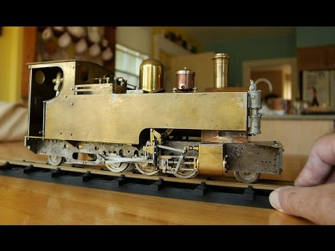 'Russell' Live Steam Model Locomotive Part 7